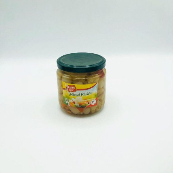 BOUTON D OR MIXED MIXED PICKLES 240G