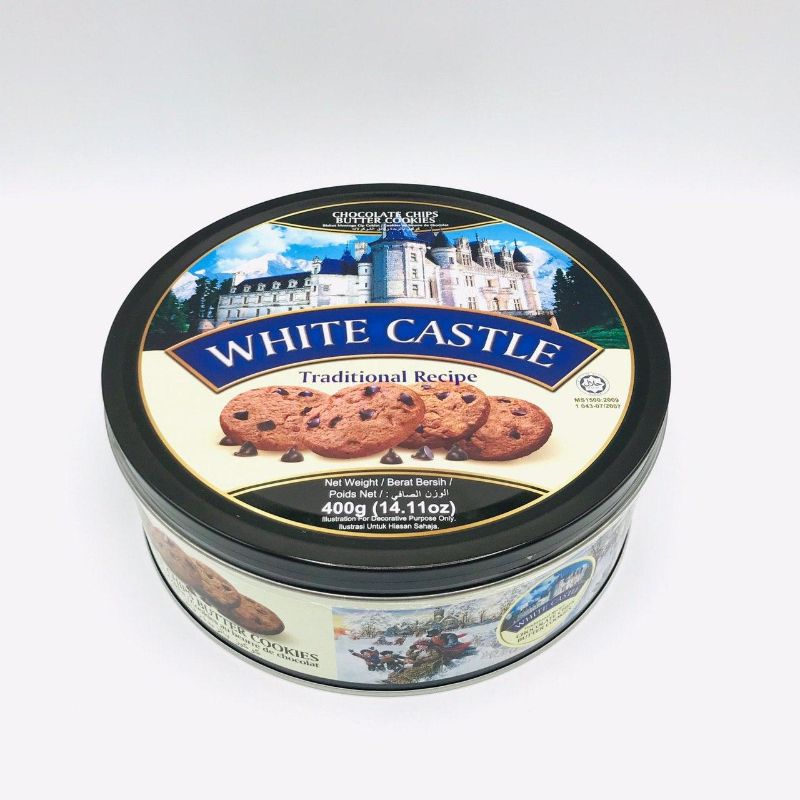 WHITE CASTLE CHOCOLATE CHIPS BUTTER COOKIES 400G